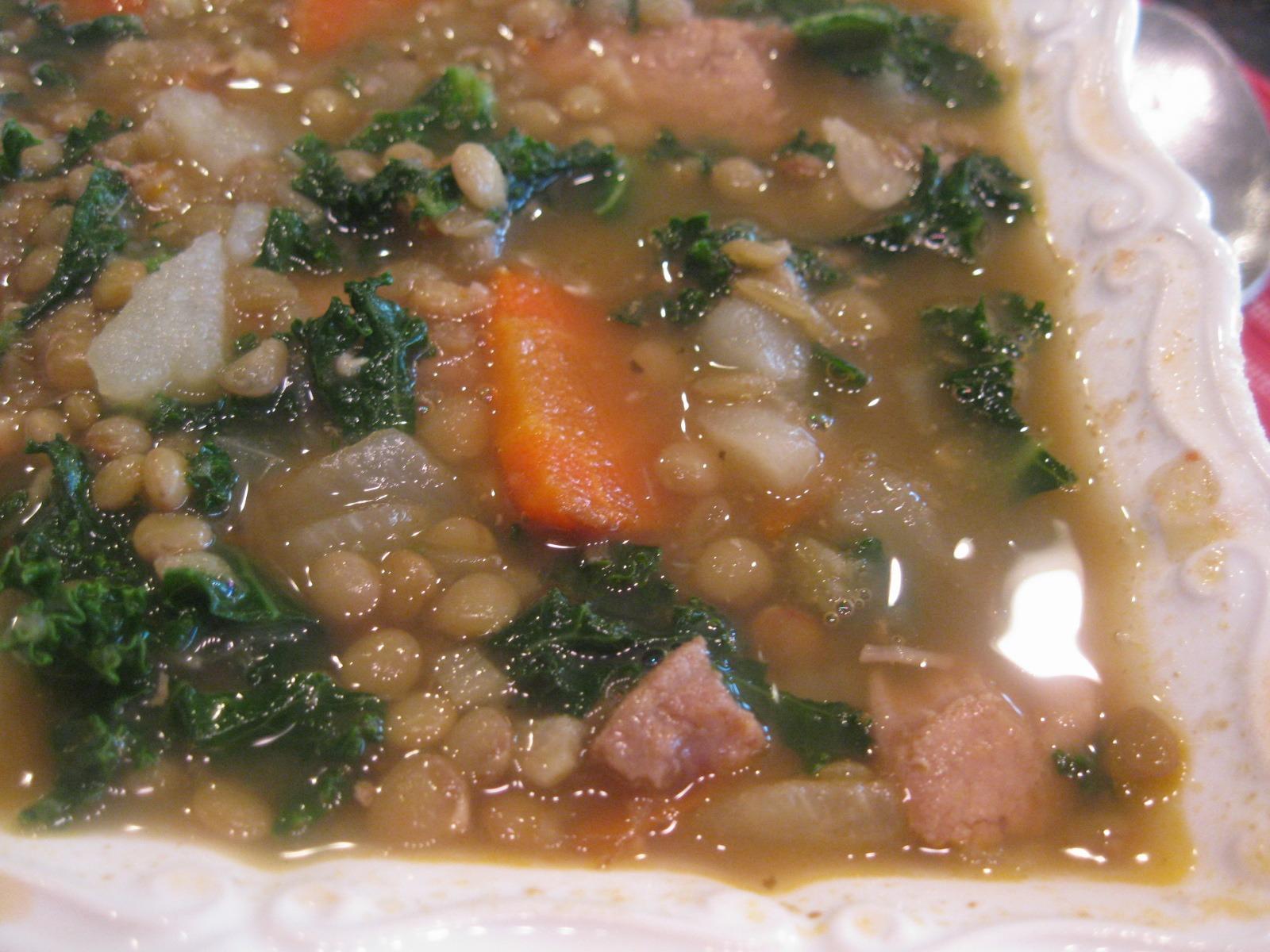 Pea-Lentil Soup