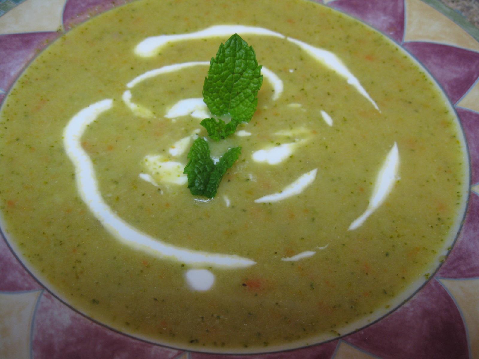 Broccoli Puree Soup