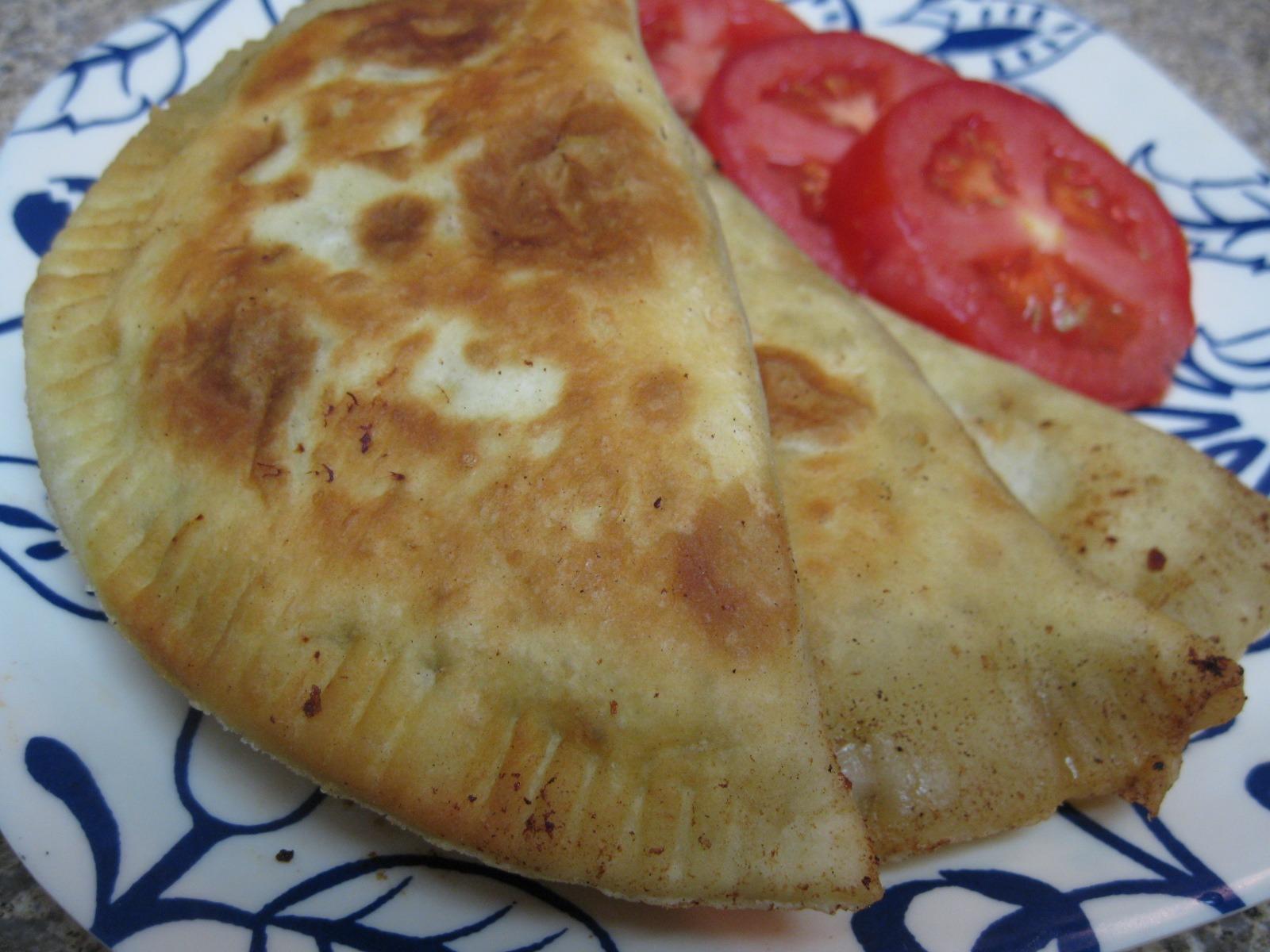 Russian Fried Pirogi (Chebureki)