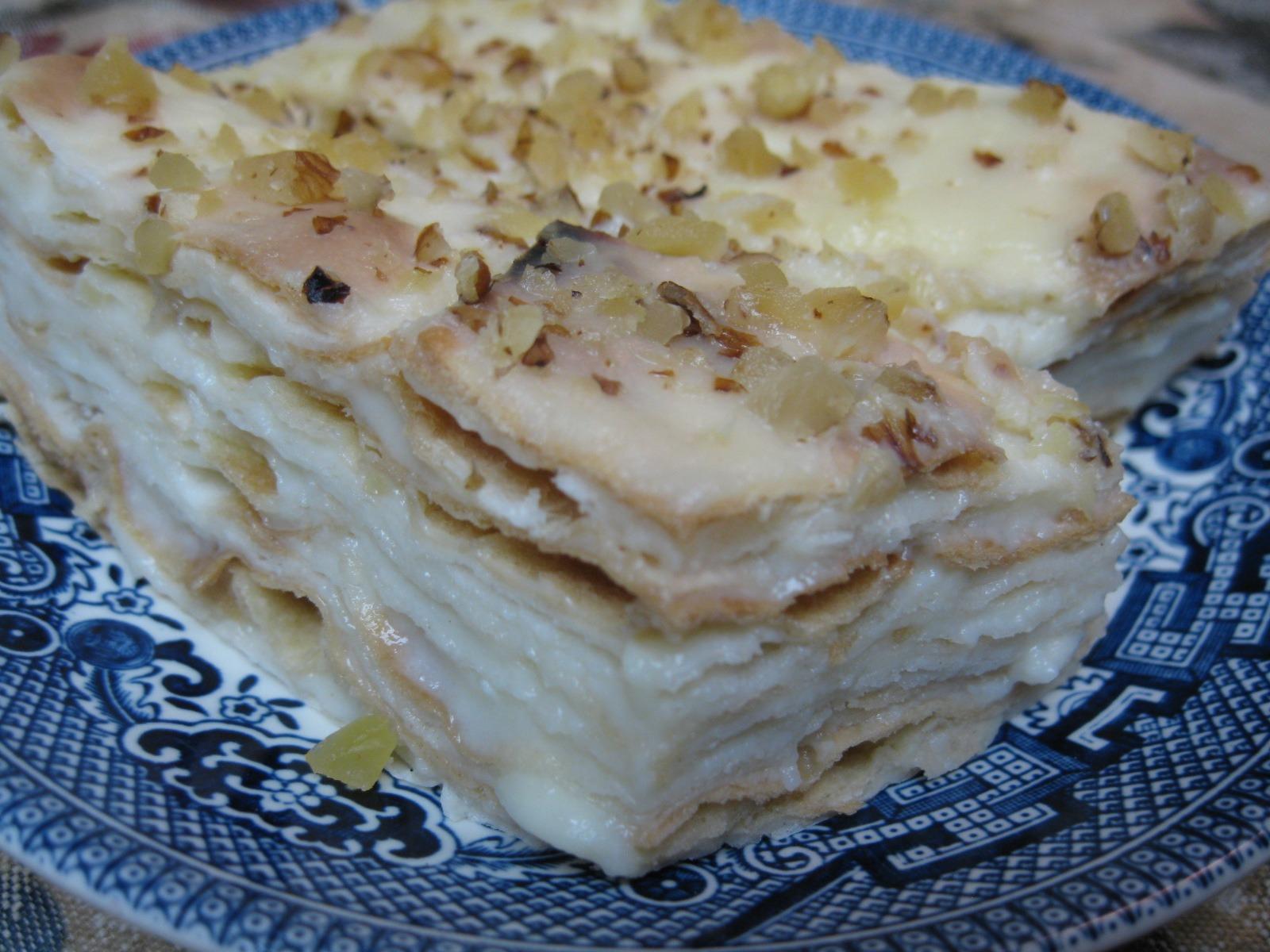Russian Multi-Layered Lavash Cake
