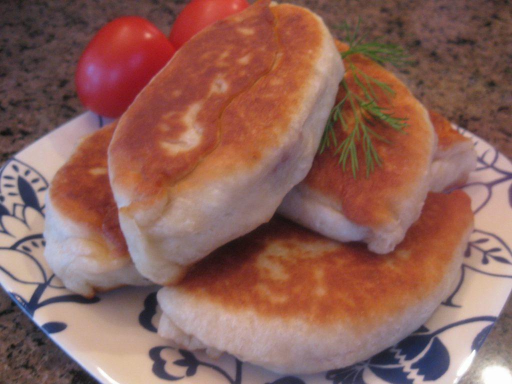 Russian Pierogi With Potato And Spinach Cook With Olga